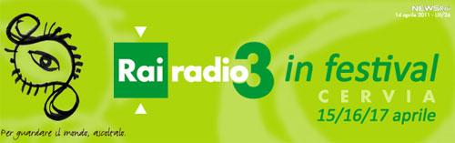 Cervia: torna Radio3 In Festival