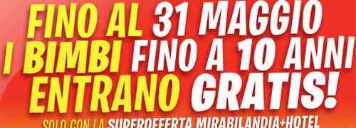 Mirabilandia: Buoni Benzina e Super Offerta Parco+Hotel