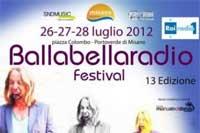 """""""Ballabellaradiofestival"""": musica e festa a Misano Adriatico"""