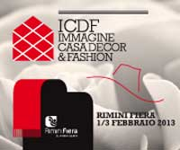 Rimini Fiera ospita ICDF, il salone dell'arredo per interni