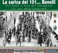 """Pesaro: """"la Carica dei 101... Benelli"""" fino a domenica 23 settembre"""