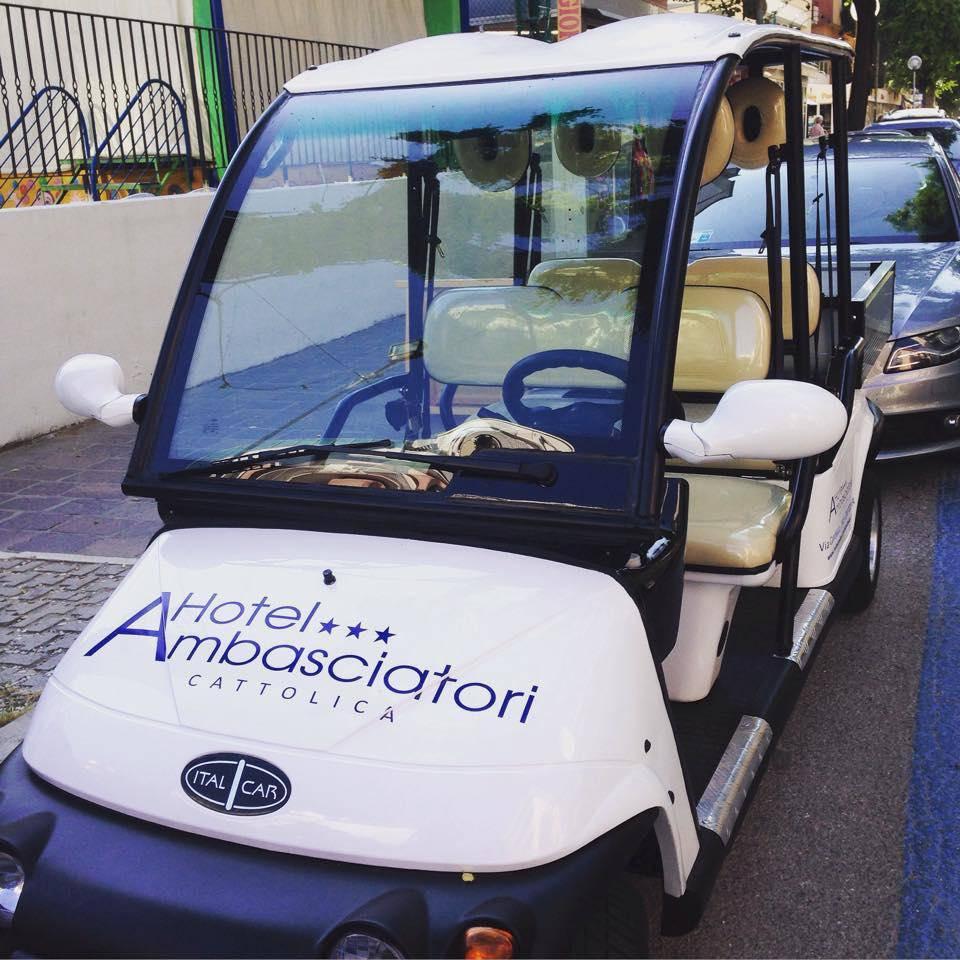 Navetta-hotel ambasciatori cattolica