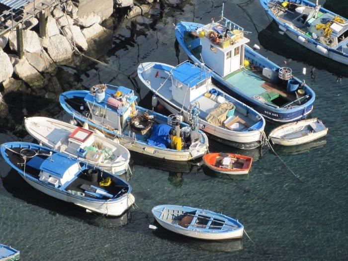 tour barca capri